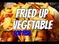 BEST FRIED UP VEGETABLE FOR YOUR FISH | Chef Ricardo Cooking