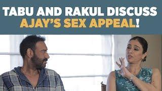 Tabu : 'Ajay Devgan tells me never to get married!' #DeDePyaarDe