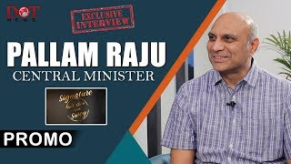 Pallam Raju Former Central Minister Exclusive Interview Promo | Talk Show With Swey | Dot News