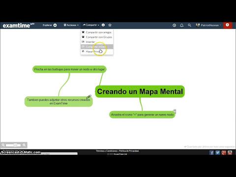 Cómo Crear Mapas Mentales con ExamTime