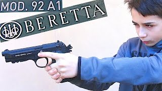 FULLY AUTOMATIC BB GUN - Beretta 92 A1 with Robert-Andre