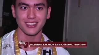 PILIPINAS, MAKIKILAHOK SA MR. GLOBAL TEEN 2016