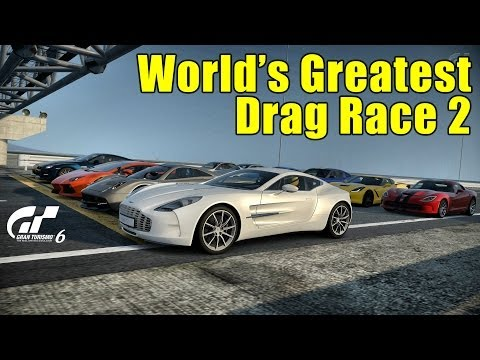 GT6丨Worlds Greatest Drag Race 2丨5KM丨SSRX