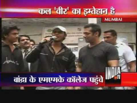salman khan ! veer movie ! exclusive interview ! part 2