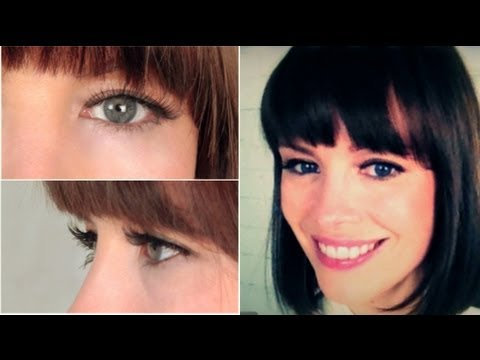 How to Apply Faux Lashes & All-Natural Lashes!