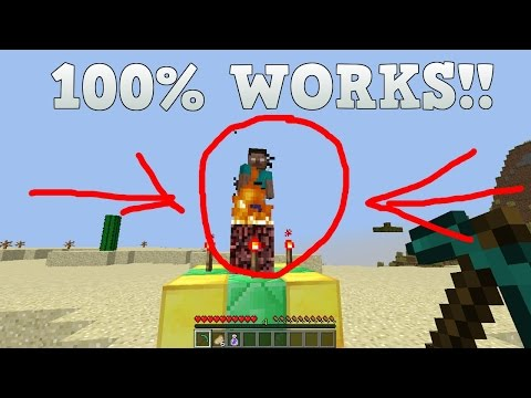 (FAKE) How to SPAWN Herobrine in Minecraft! 1.8.9! JUNE 2016 [100% FAKE]