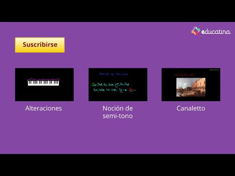 Las notas musicales - Música - Educatina