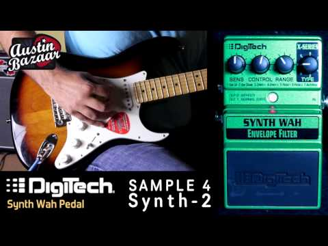Digitech X-Series XSW SYNTH WAH - Envelope Filter Pedal Demo - Austin Bazaar