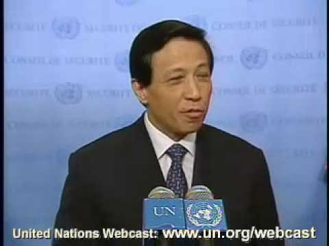 MaximsNewsNetwork: UN Amb. CHINA, ZHANG YESUI on DPR KOREA NUCLEAR NON-PROLIFERATION