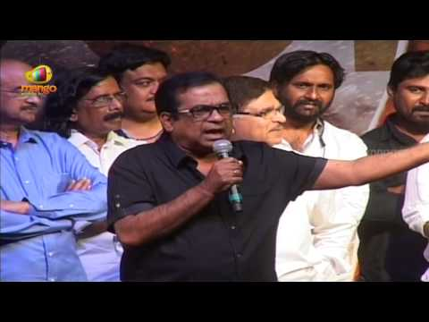Brahmanandam Kill Bill Pandey Funny Speech @ Race Gurram Success Meet - Allu Arjun