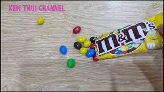 Kẹo socola M&M màu vàng | Chocolate M&M | Kem Thúi Channel