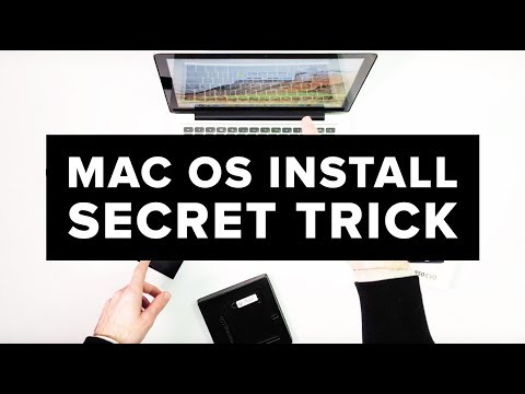 MacOS Install Secret Trick -  How to install Mac OS High Sierra on new ssd clean install MacBook Pro