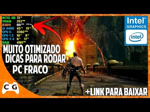 Dark Souls Remastered Gameplay Teste Intel HD Graphics Roda Em PC Fraco ? Ótima Notícia #499