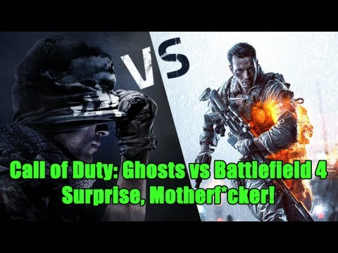 Surprise, Motherf*cker! (Call of Duty: Ghosts vs Battlefield 4)