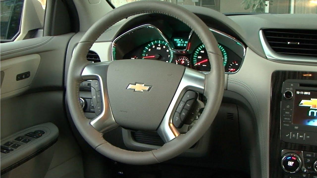2013 Chevrolet Traverse - INTERIOR - YouTube