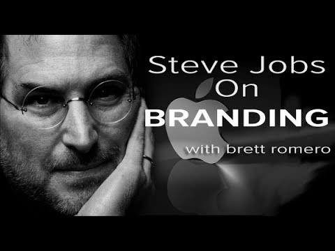 Steve Jobs on The Secrets of Branding