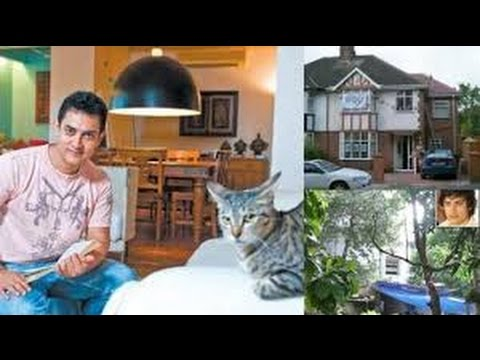 ACTOR AAMIR KHAN'S Beautiful House IN Mumbai.