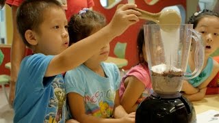 Teaching Preschool Students How to Cook