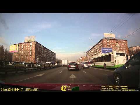 Datakam G5-BF, автомобили в соседней полосе, день