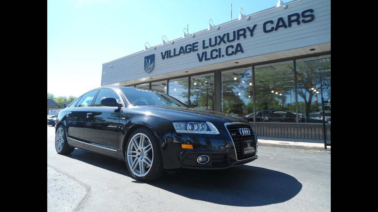 2009 Audi A6 S Line In Review Village Luxury Cars