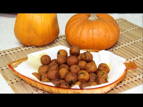 Pumpkin Potato Croquettes Video Recipe   Pumpkin Fritters Or Balls