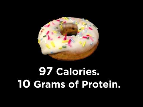 The 97 Calorie Donut. 10g of Protein. JIM BUDDY'S.