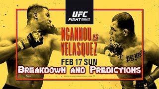 UFC on ESPN 1: Ngannou vs Velasquez - Breakdown and Predictions