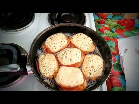 Как приготовить гренки с молоком - видео