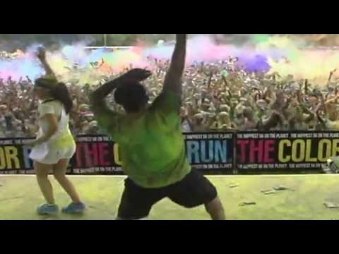 The Color Run Philadelphia 2013  Harlem Shake over the top!!!