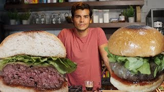 The Best Homemade Burger