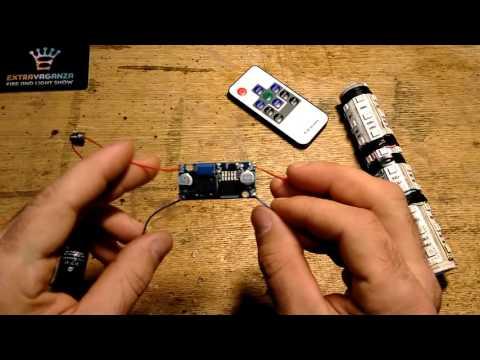 Как из батареек сделать 9 вольт