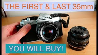 The Best 35mm Camera for Beginners! Pentax K1000 Review
