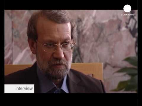 euronews interview - Ali Larijani: