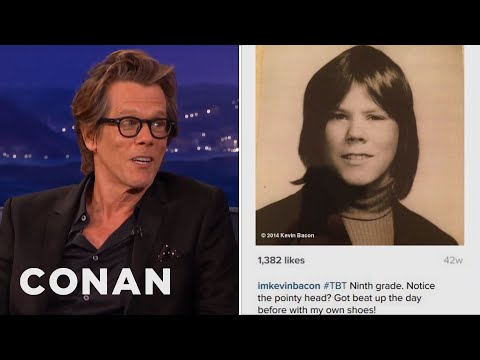 Kevin Bacon's Painful TBT Photo  - CONAN on TBS