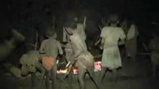 Circumcision part 2 Mukanda Camp