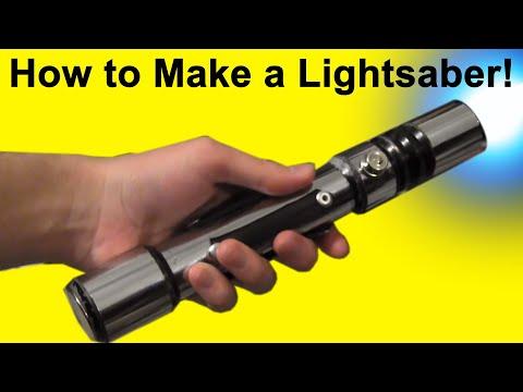 How to Make a Lightsaber (DIY)