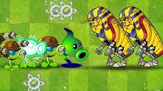 Top 10 Teams vs Pharaoh Zombie in Plants vs Zombies 2 Power Up vs Hard Zombie in PVZ 2