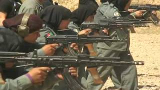 Police Women Firing Weapons