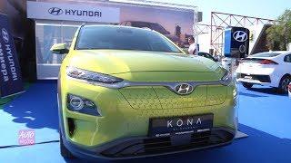 2019 Hyundai Kona Electric - Exterior And interior Walkaround - 2018 Auto City Plovdiv