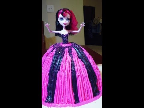 MONSTER HIGH BIRTHDAY CAKE TOY REVIEW