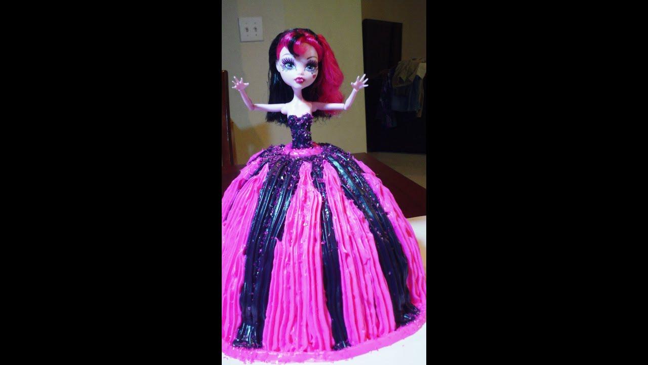 Homemade Monster High Cake Ideas
