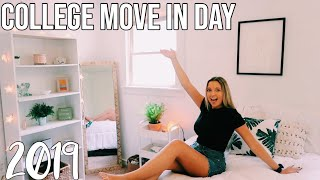 COLLEGE MOVE IN DAY VLOG 2019!