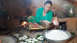 Nepali Village   साउने संक्रान्ति विशेष गरि गाउँ घरमा बनाइने बारा    Nepali Homemade