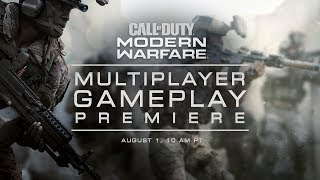 Call of Duty: Modern Warfare - Multiplayer Premiere