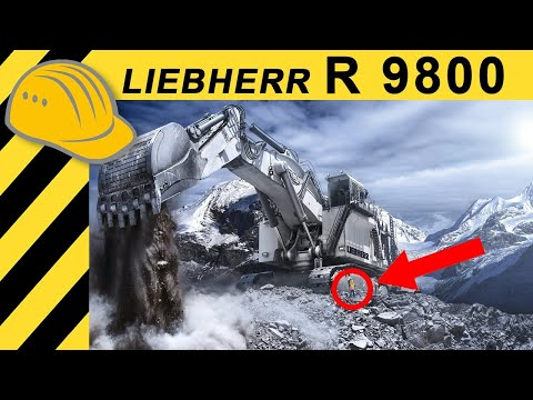 Heavy Equipment Calendar 2011 Making of - Liebherr Miningbagger R 9800 in Australien