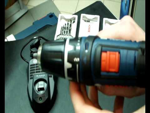 Обзор шуруповёрта Bosch GSR 10.8-2-LI