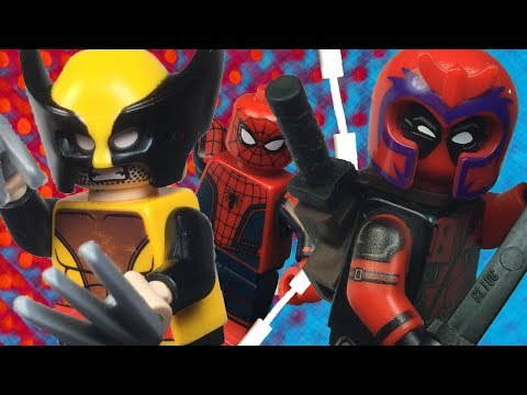 LEGO Deadpool vs Wolverine II