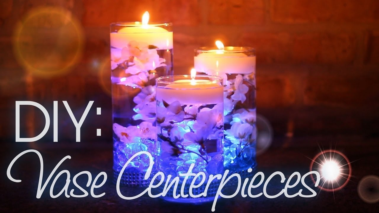 Diy Vase Centerpieces Youtube