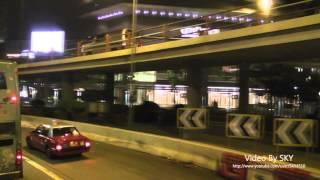 Hong Kong bus KMB GM5591 @ 9 九巴 Dennis Dragon (Air-cond.) 中電 → 四美街