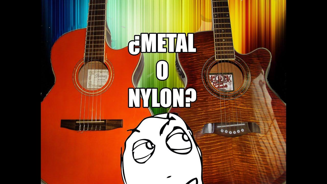 Cuerdas de nylon o de metal todo lo que debes saber - Cuerda de nylon ...